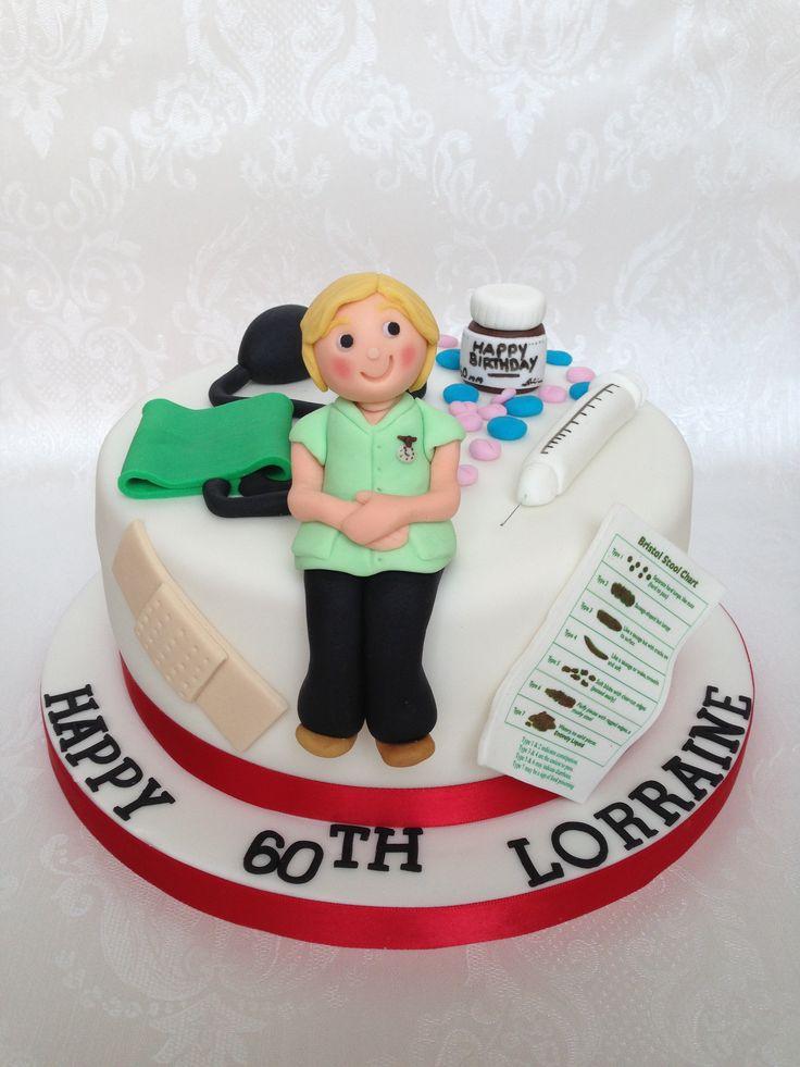 Nurse Themed 60th Birthday Cake