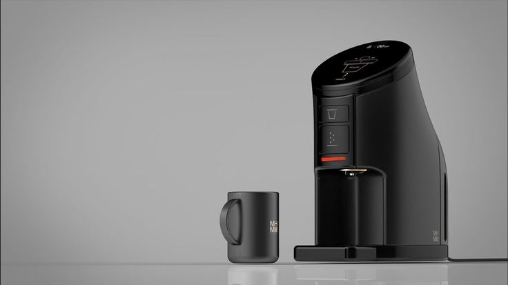 Cafam_touch panel coffee machine on Behance