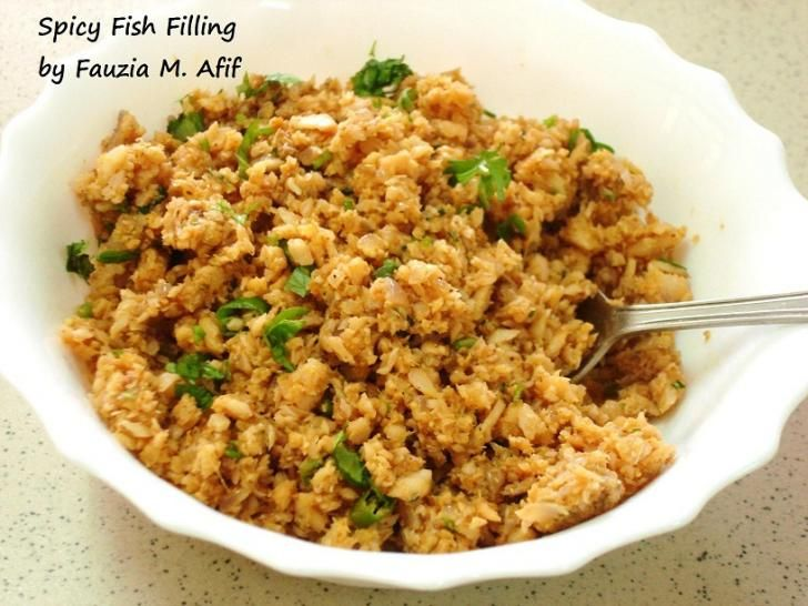 Both delicious and healthy, this dish can be used as a filler for sandwiches or buns, as a base for making Fish Kababs or even as a part of the toppings for seafood pizza!