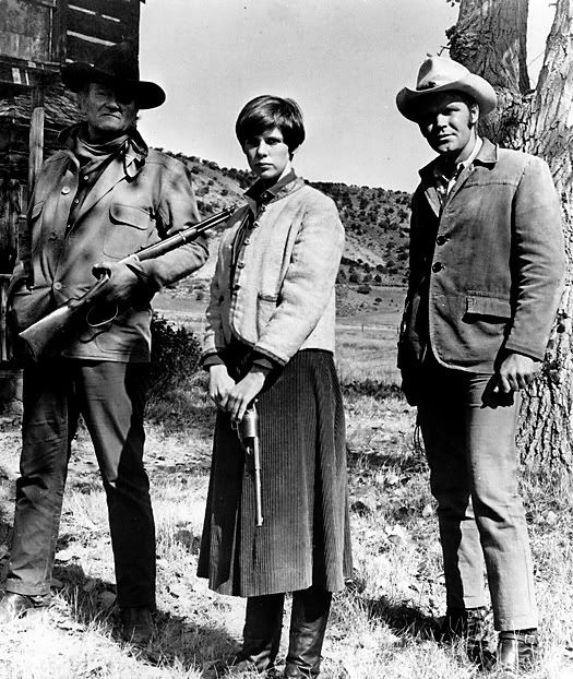 True Grit - John Wayne, Kim Darby and Glen Campbell - 1969