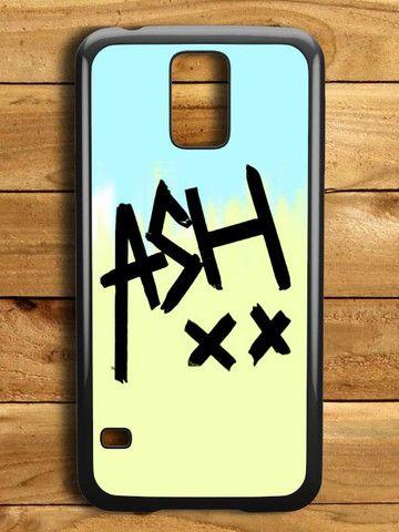 5sos Ashton Irwin Signature Color Samsung Galaxy S5 Case