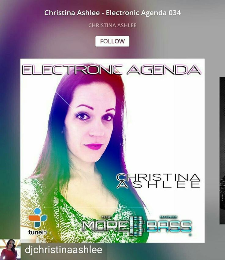 Credit to @djchristinaashlee : Latest mix now online. Follow the link in my bio 🔊🎶😋 .  #trancefamily #djane #dj #trance #music #plur #mix #vibe #rave #ravegirls #edm #dance #morebass #electronicagenda #followme #mixcloud #radio #pic #me #woman #nowplaying