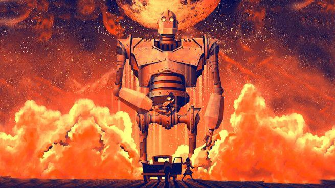 El gigante de hierro.