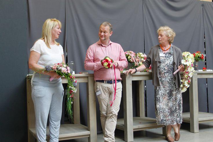 Azubi-Wettbewerb mit Arne Bruns und Imke Reidebusch - Abholmarkt Vosteen, Juni 2014