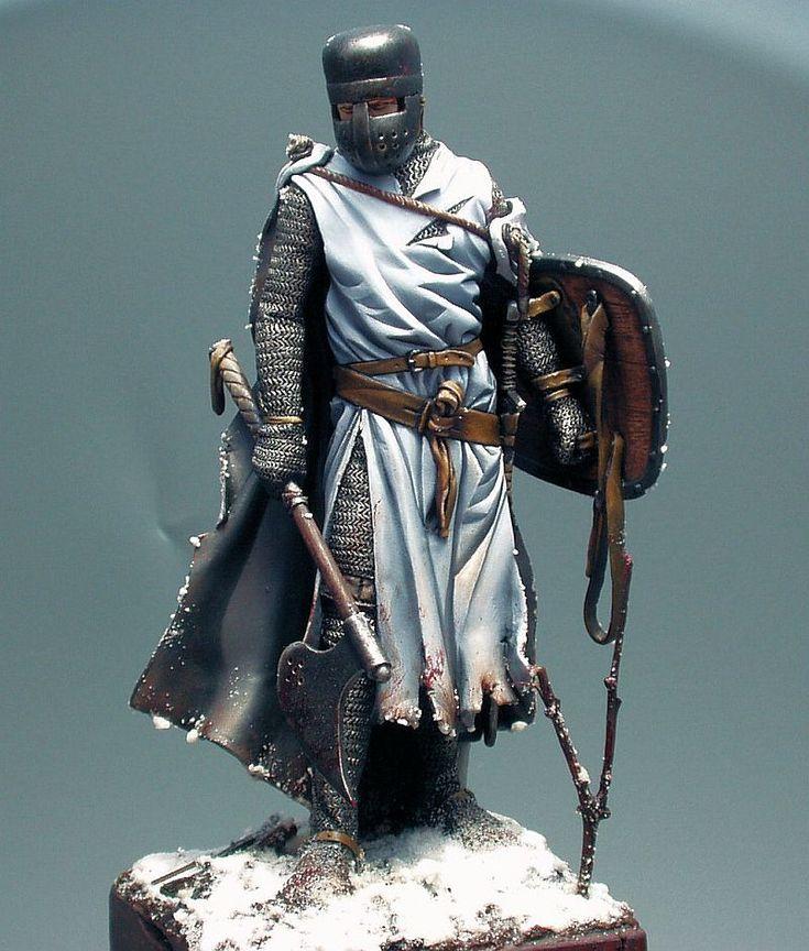 Medieval Knights | simon m.: Medieval German Knight 90mm (Pegaso Models)