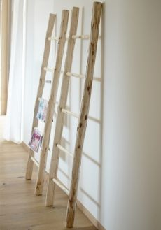 Leiter Holz Natur Hand Arbeit aus der Familientischlerei