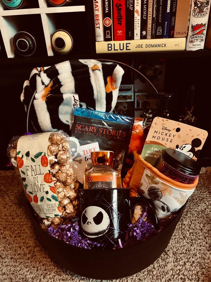 Disney halloween gift baskets