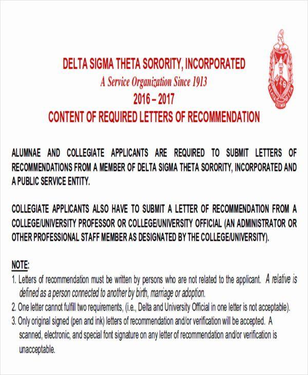 community service letter of recommendation fresh 6 sample