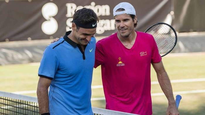 Tommy Haas: 'Roger Federer treats everyone in the same way'