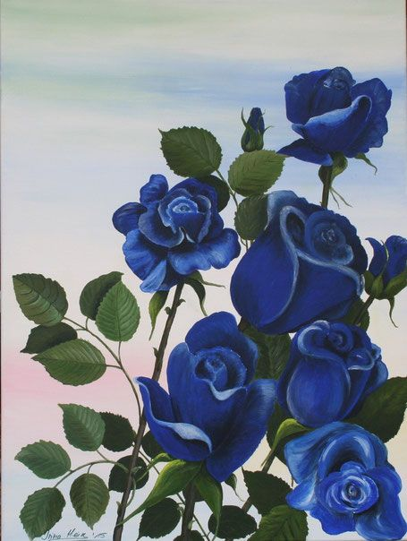 """Blaue Rosen"""