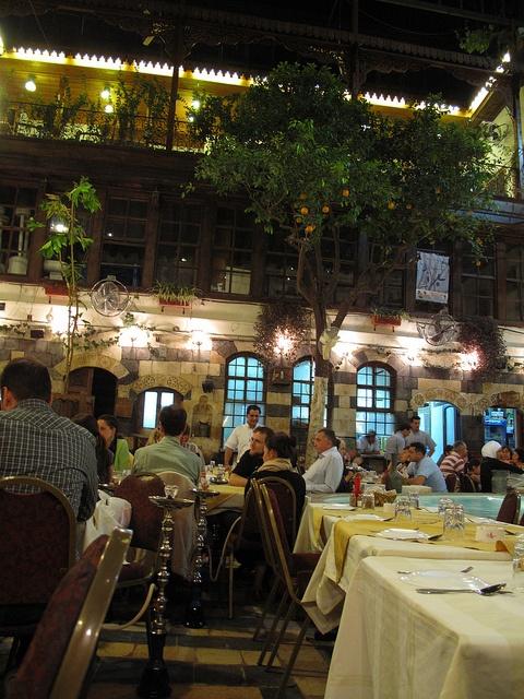 Elissar Restaurant - Damascus, syria