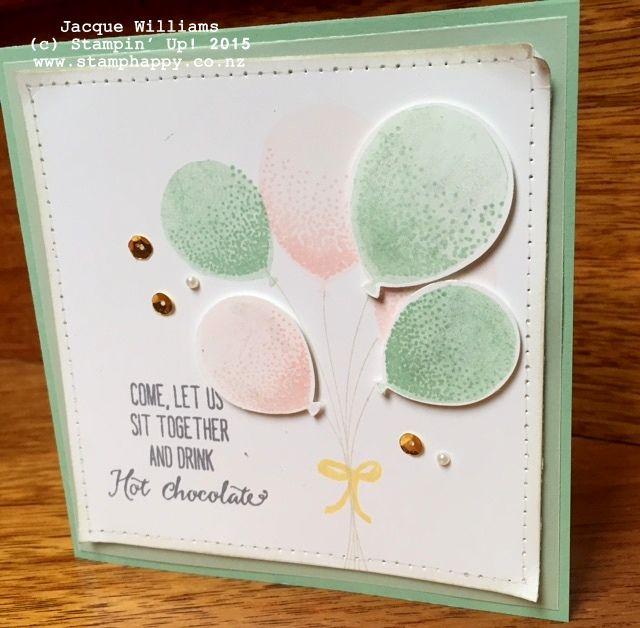 stampin up balloon celebration love blossoms embellishment kit