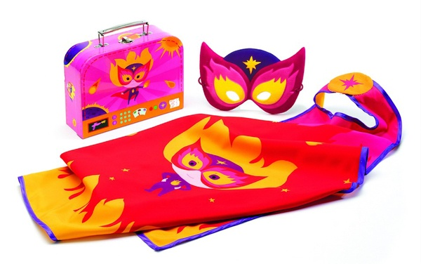 zzzGIRL Superhero Outfit