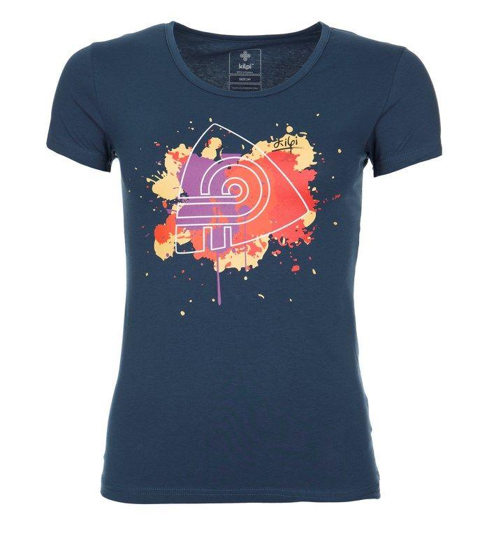 Women's T-shirt KILPI - MURAYA - blue