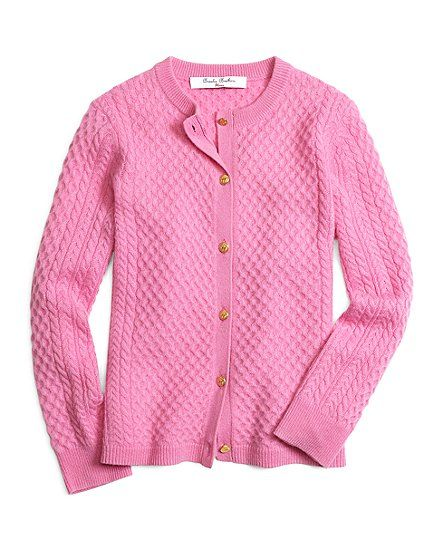 Cashmere Cable Knit Cardigan - Brooks Brothers