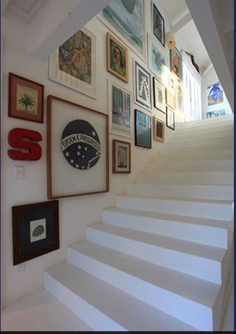 Something Like This For The Stairway   Different Art But I Like The Size Of  These