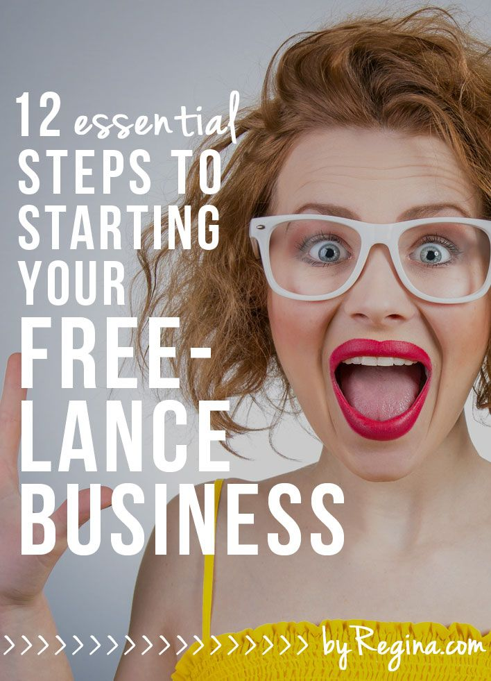 12 Essential Steps to Starting Your Freelance Business - by Regina [for bloggers // creative businesses // and you]