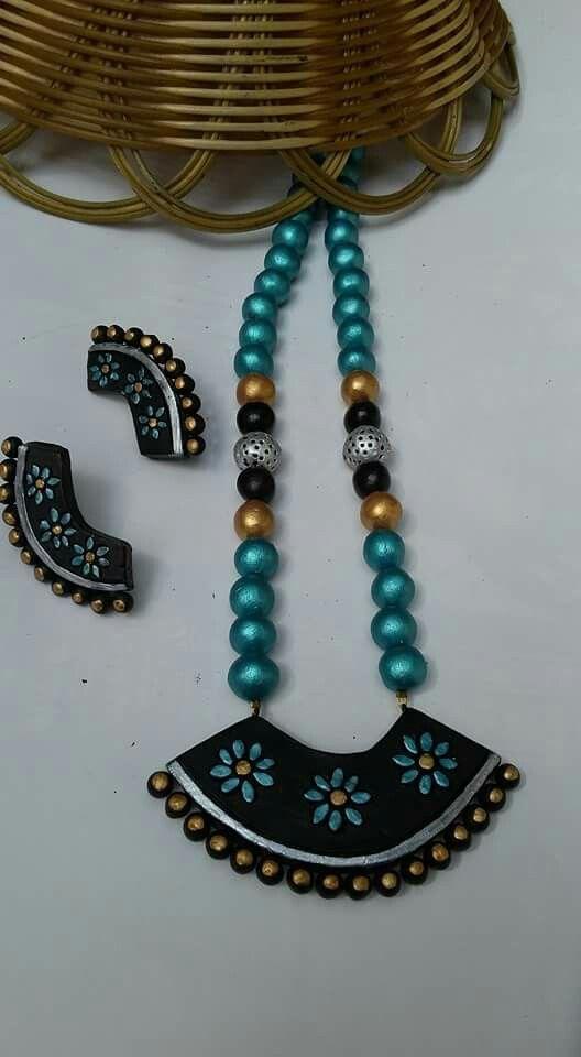 Real terracotta jewelry 850/-