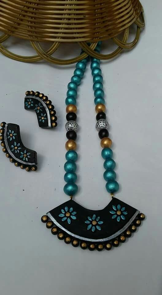 Real terracotta jewelry 850/-