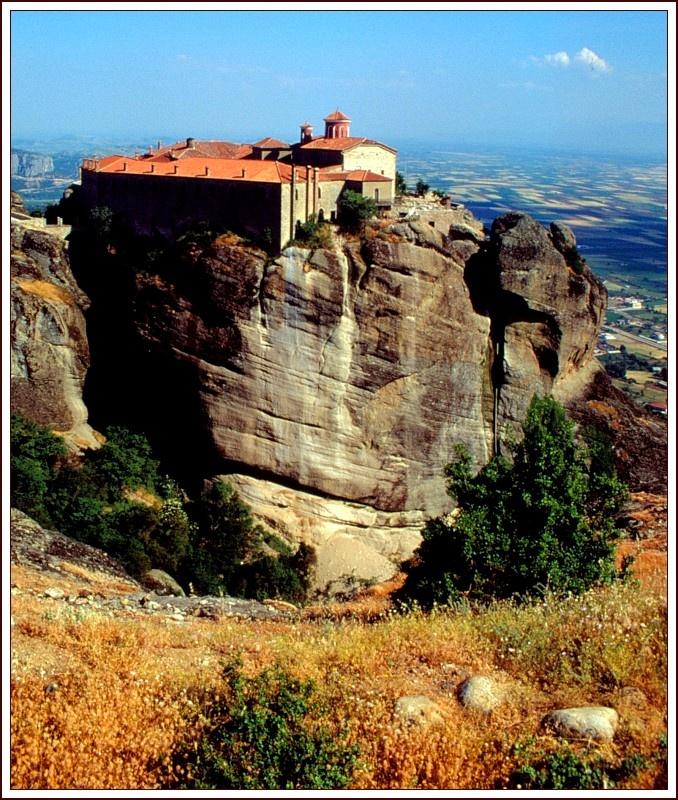 Monasterio en Metéora (Thessaly region)
