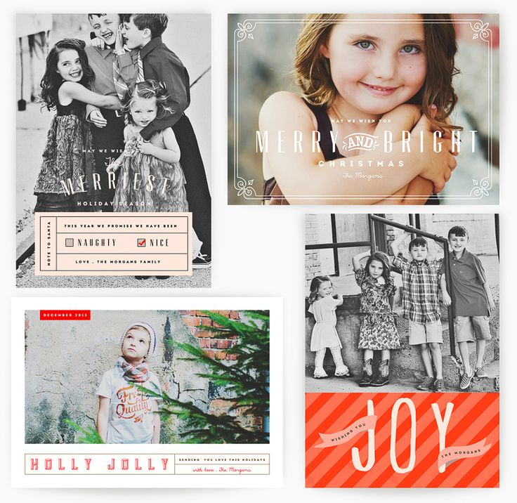 115 best Holiday Photo Card Templates images on Pinterest | Card ...