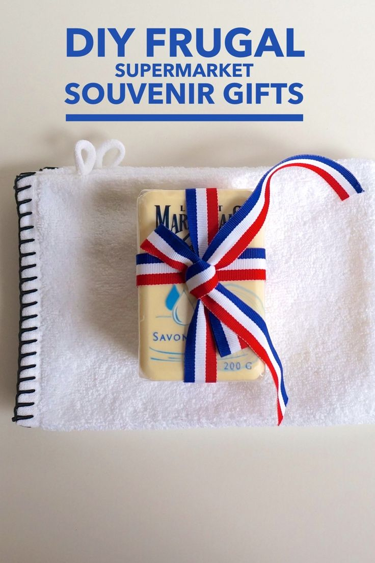 The best frugal travel souvenirs come from supermarkets-- learn how to make generic looking grocery items gift-worthy with our DIY guide.