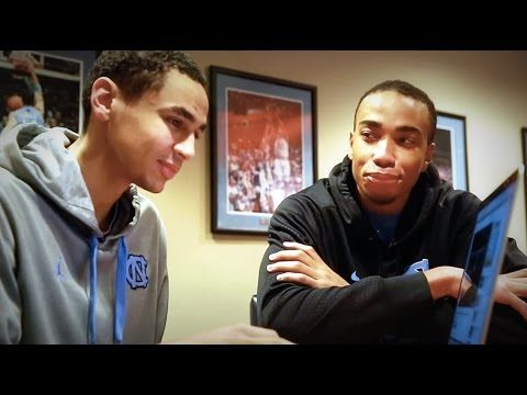 UNC Men's Basketball: Marcus Paige & Brice Johnson Reminisce
