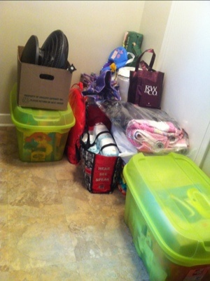 Packing for Vacation - tips on how to pack a family of four into a crossover for a week's vacation at a cottage.