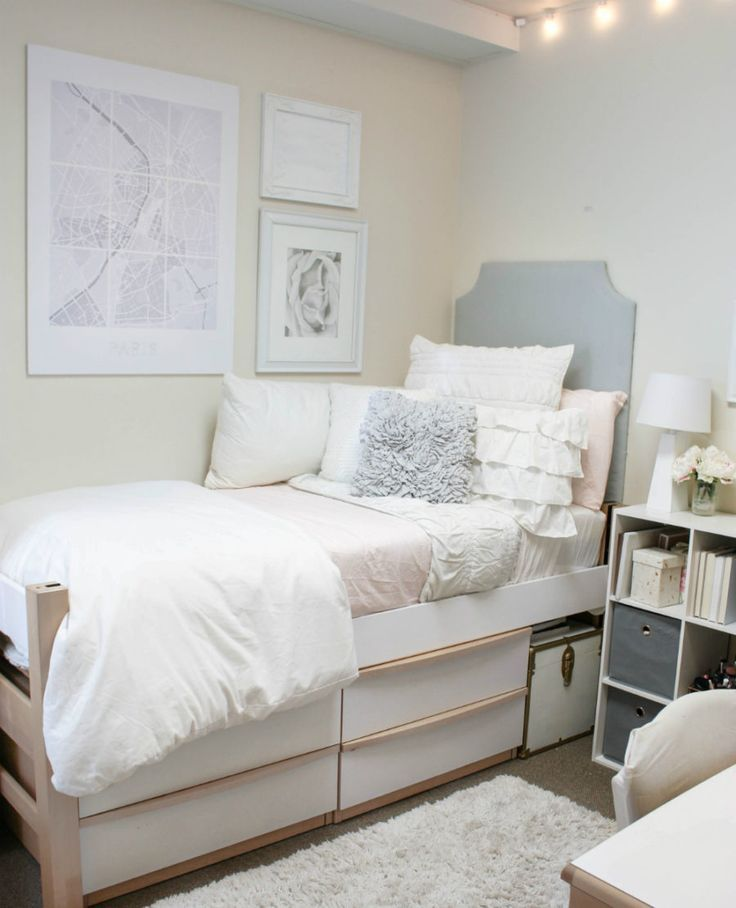 Smart and Stylish Modern Dorm Rooms | Cool dorm rooms ...