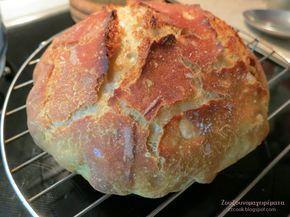 Ζουζουνομαγειρέματα: Ψωμί χωρίς ζύμωμα χωρίς μεγάλη αναμονή!