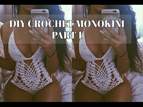DISCLAIMER: I'm not a crochet expert this is just the pattern that I use. I posted a photo of a monokini bathing suit I made and had a lot of requests to sel...