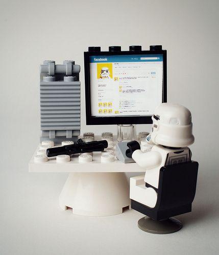 Mike Stimpson, fotos com Lego