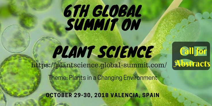 Plant Science Conferences 2018  wishing a heart full happy new year to every one hope this year makes every one dreams come true.. submit your abstract https://plantscience.global-summit.com/abstract-submission.php