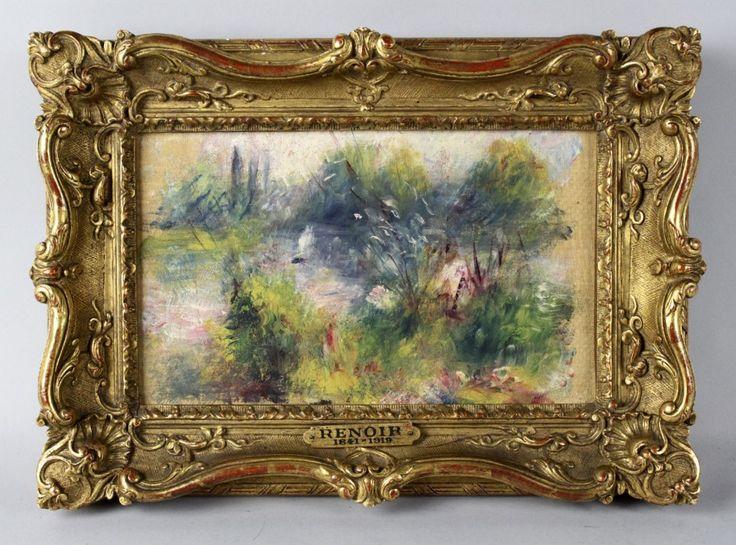 E' stato comprato in un mercatino delle pulci per soli 7 dollari quattro anni fa, ma è un dipinto originale di Pierre-August Renoir, che nel 1879 il genio impressionista realizzò per la sua amante, e che oggi vale quasi 15.000 volte di più. Ne dà notizia la Cnn. 'Paysage