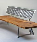 A collection of Aviation furniture by Canadian Artist Arnt Arntzen.