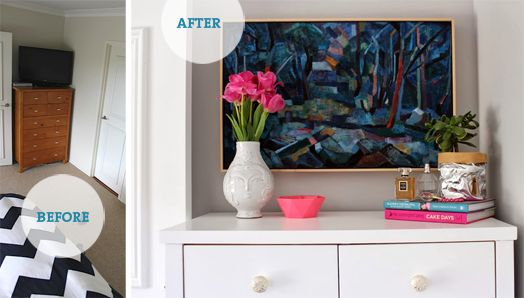Before & after drawers and styling | Bibby + Brady Hamilton Home