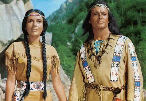 Winnetou und Ribanna