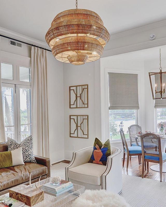 Antibes Chandelier Currey And Company Furniture Arrangement