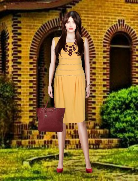 Look from latest collection of: DKNY, Moschino, New Look, Oscar de la Renta, Steve Madden. GLAMSTORM.COM - virtual stylist.
