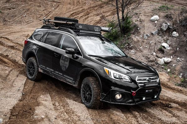 AWD enhancements. Subaru Outback off-road accessories ...