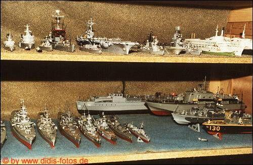 diverse Modelle in meinem Keller