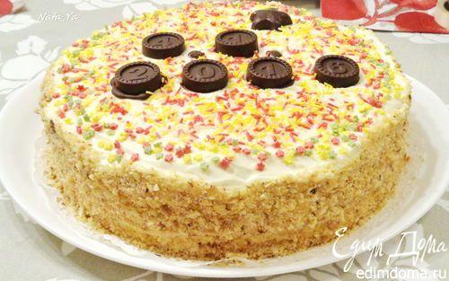 Нежнейший торт с яблочным пюре | Кулинарные рецепты от «Едим дома!»
