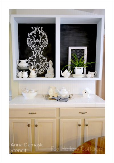 Best 25 damask stencil ideas on pinterest free damask for Kitchen cabinets lowes with damask decals wall art