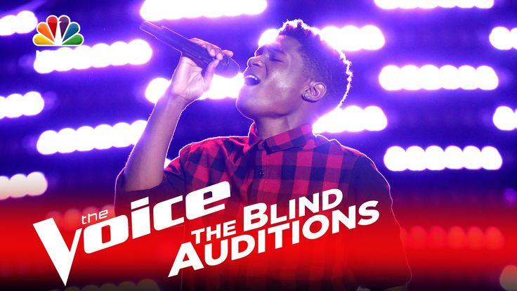 "The Voice 2016 Blind Audition - Malik Heard: ""Chains"""