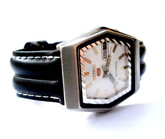 Original y Vintage Reloj SEIKO 5 Automatico Japon por shopvintage1