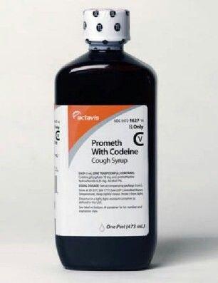 16oz, lean cough syrup