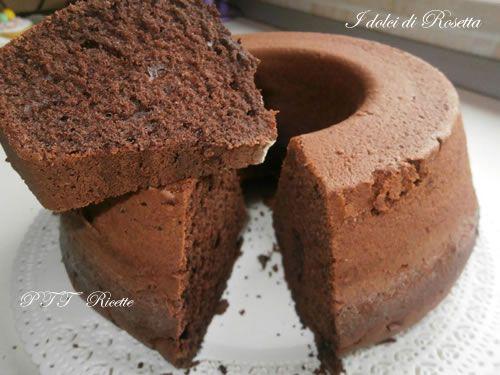 Ciambella di cioccolato e cacao   Ricetta