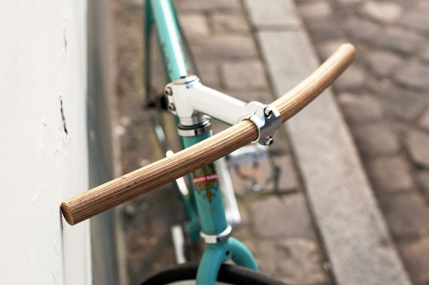 Designer - Rainer Spehl  Handlebar Made of Plywood in collaboration with Enzo Fruytier