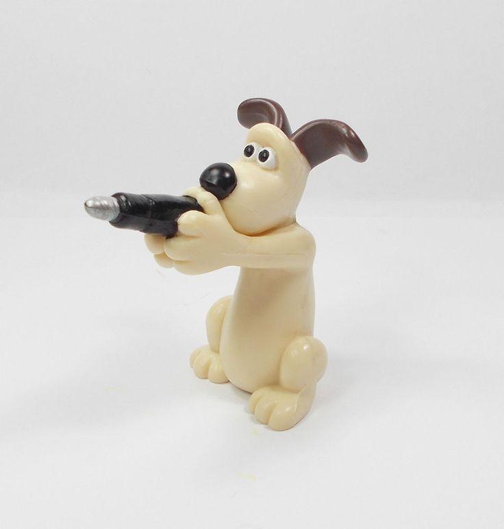 Wallace & Gromit - Gromit - Mini Toy Figure - Aardman 1989 - Cake Topper B