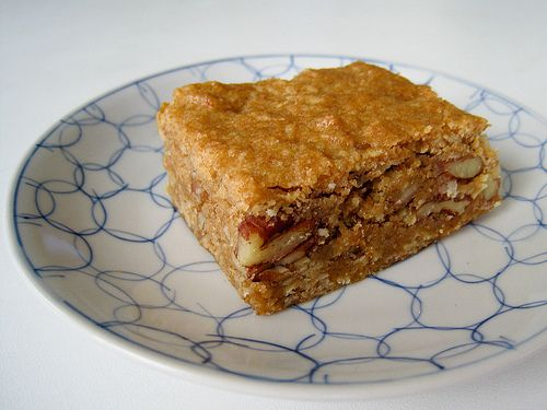 """Spiced Sweet Potato Blondies from """"Vegan Cookies Invade Your Cookie ..."""